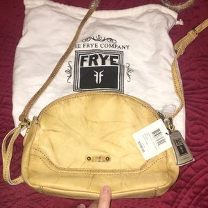 NWT Brand new Frye crossbody bag with cover